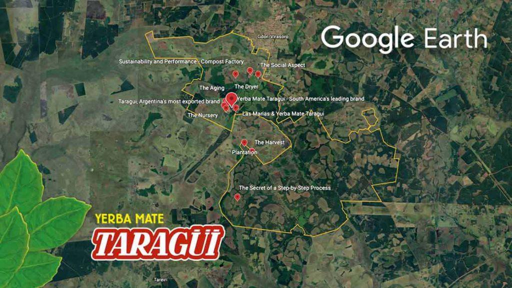Las Marías desde Google Earth